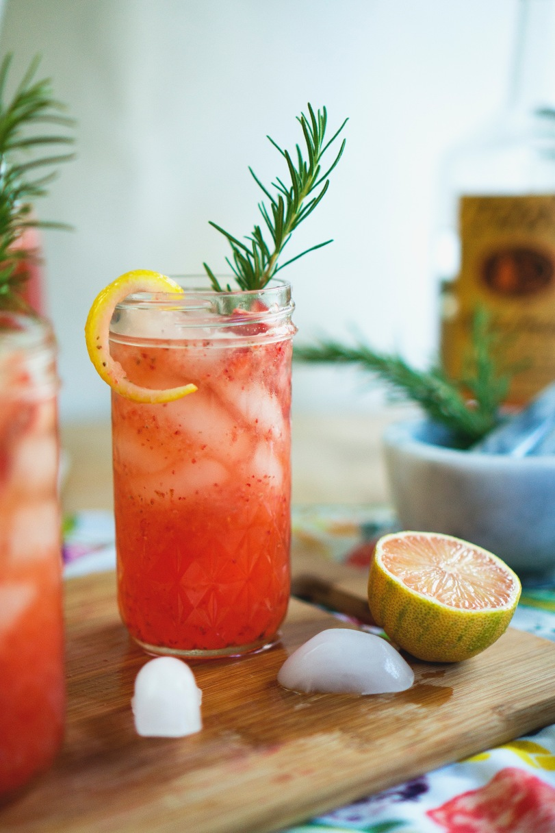 strawberry lemonade spritz ii