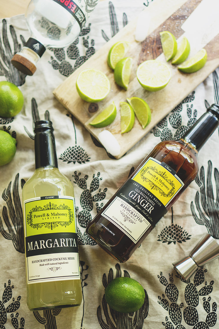 ginger margarita mixers