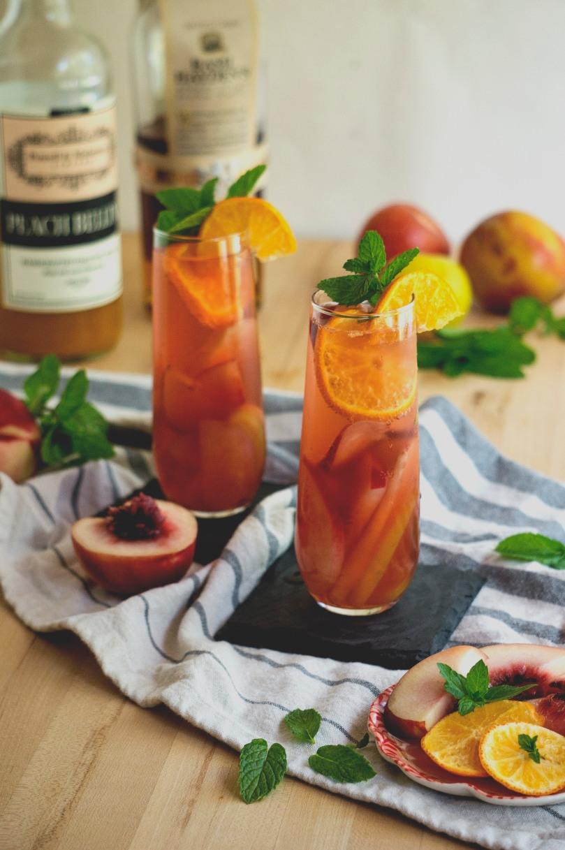 peach rose wine sangria ii