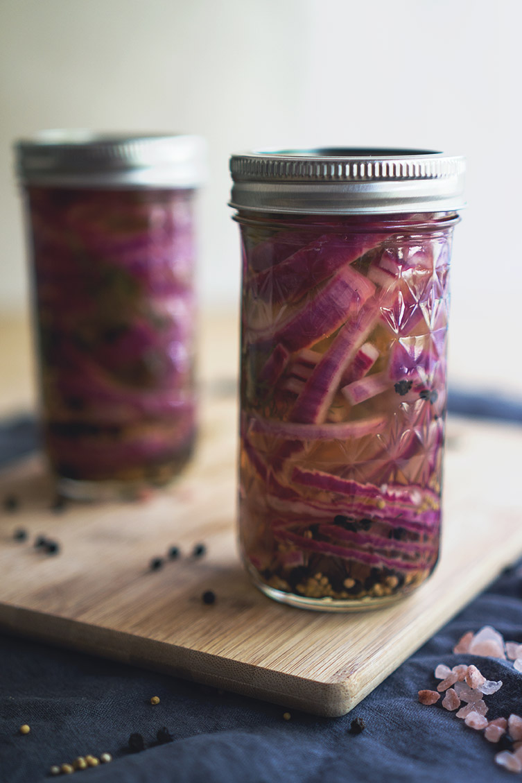 pickled onions canned