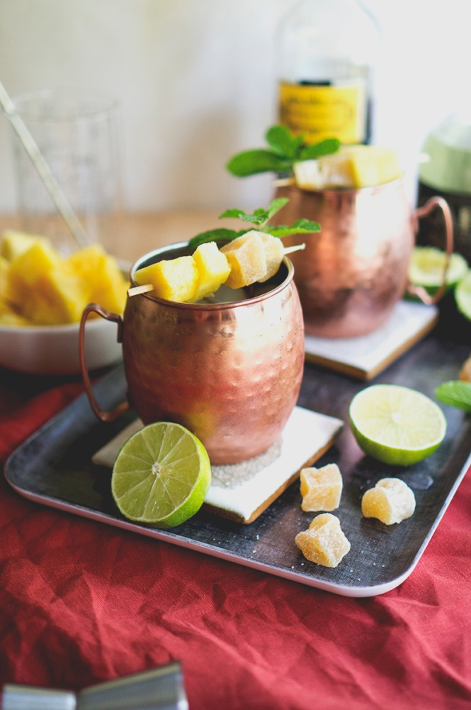 mexican mule served